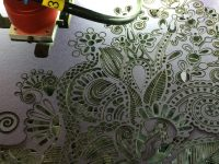 Paper lasering