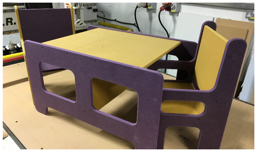 CNC cut children's furniture