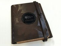 RHS Wisley - Leather-bound book presented to HM Queen Elizabeth II