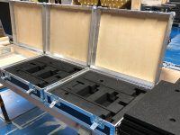 Bespoke carry case inserts for Tenon Engineering