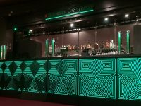Fretwork panels - Heineken bar at The Royal Albert Hall
