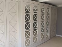 Fretwork -  mirrored wardrobes