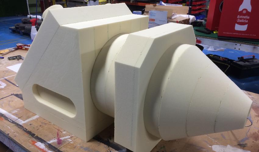 CNC 3D model for Trotec